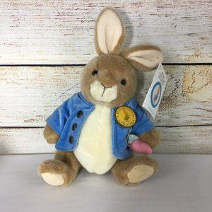Peter Rabbit Plush Collectible Eden Beatrix Potter